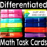 Differentiated Math Task Card Bundle