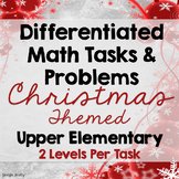 Differentiated Math Tasks {Christmas Math Tasks}