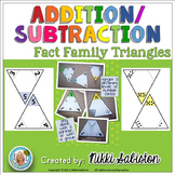 Fact Family Math Triangles - Part-Part-Whole, Fact Familie