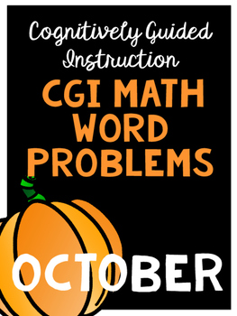 Differentiated Math Word Problems... Perfect for CGI!