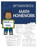 Differentiated Math Work - OA.A.1