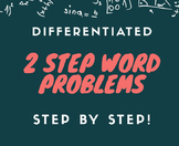 Differentiated Math lesson plan STEP by STEP