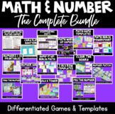 Differentiated Maths Number Games COMPLETE (GROWING) BUNDLE