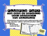 Differentiate with Mental Math --Fluency Game Boards