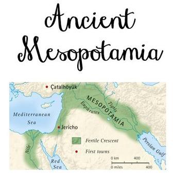 Differentiated Mesopotamia Workbook