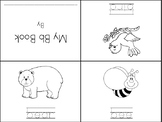 Differentiated Mini Alphabet Book - Letter Bb