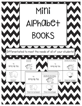 Differentiated Mini Alphabet Books