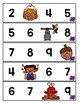 Differentiated Missing Numbers Strips