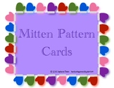 Differentiated Mitten Pattern Cards