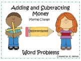 Differentiated Money Word Problems