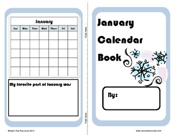 Differentiated Monthly Calendar Math Books