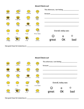 Differentiated Mood Check-In / Check-Out