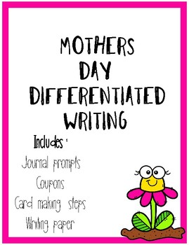 Differentiated Mothers Day Writing