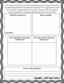 Differentiated Multi-step Word Problems