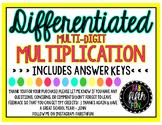 Differentiated Multidigit Multiplication