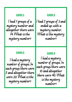 Multiplication Worded Problems