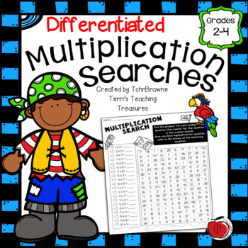 Differentiated Multiplication Searches