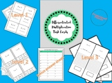 Differentiated Multiplication Task Cards Including Array Support!