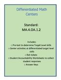 Differentiated Multiplicative/Additive Comparison Math Cen