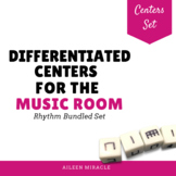Differentiated Music Rhythm Centers {Growing Bundle}