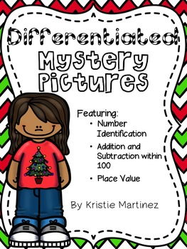 Differentiated Mystery Pictures (Holiday Edition)