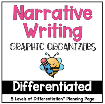 Differentiated Narrative Graphic Organizers