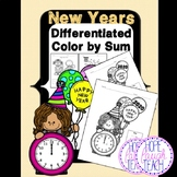 Differentiated New Years 2019 Color By Sum