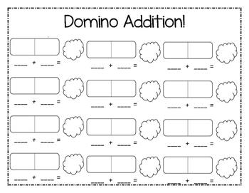 Differentiated No-Prep Domino Math Centers