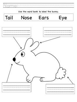 Easter Labeling Packet
