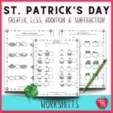 Saint Patrick's Day Math Activities