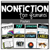 Differentiated Nonfiction Text Features Posters, Book, Act