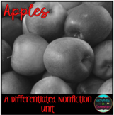 Differentiated Nonfiction Unit: Apples