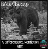 Differentiated Nonfiction Unit: Black Bears