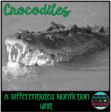 Differentiated Nonfiction Unit: Crocodiles