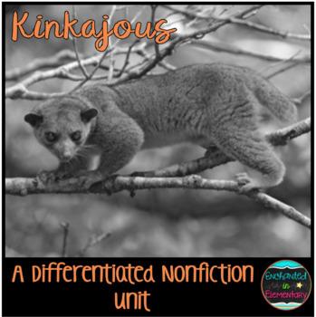 Differentiated Nonfiction Unit: Kinkajous