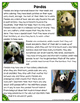 Differentiated Nonfiction Unit: Pandas