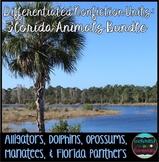 Differentiated Nonfiction Units: Florida Animals Bundle