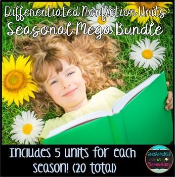 Differentiated Nonfiction Units- Seasonal Mega Bundle