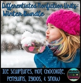 Differentiated Nonfiction Units: Winter Bundle