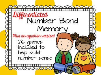 Differentiated Number Bond Memory