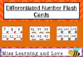 Differentiated Number Cards