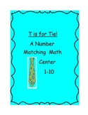 Differentiated Number Recognition Center w/Accountability Sheet
