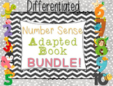 Differentiated Number Sense Adapted Book BUNDLE (1-10)