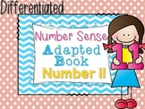 Differentiated Number Sense Adapted Book (Number 11)