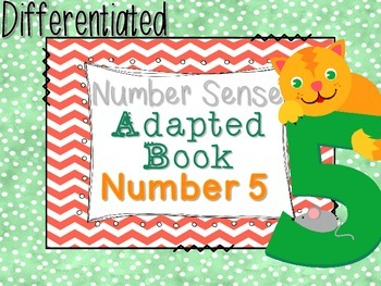 Differentiated Number Sense Adapted Book (Number 5)