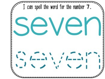 Differentiated Number Sense Adapted Book (Number 7)