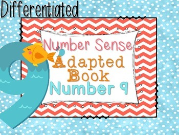 Differentiated Number Sense Adapted Book (Number 9)