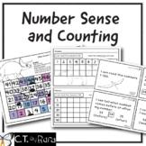 Number Sense Activities for Kindergarten and First (1-30) (1-50) (1-100)