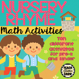 Nursery Rhyme Math Activities