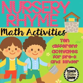 Differentiated Nursery Rhyme Math Activities